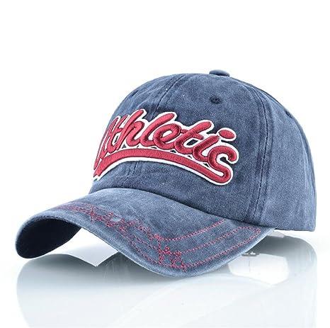 NONGNIML Gorra de béisbol Lavado Denim Mujeres Hombres Papá Hat ...