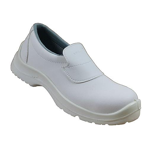 Vidar - Calzado de protección de material sintético para hombre blanco blanco, color blanco, talla 42
