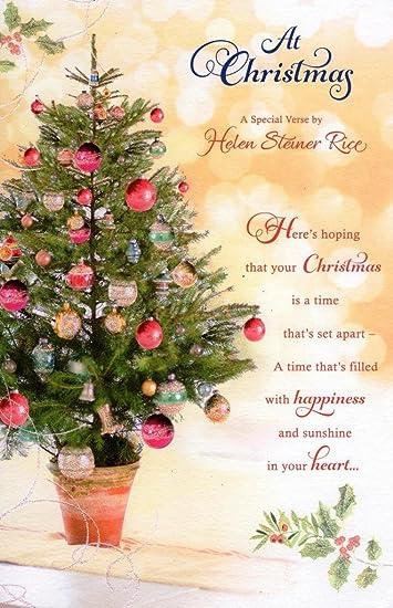 Amazon.com: En Navidad una especial verso por Helen Steiner ...
