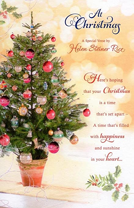Helen Steiner Rice Christmas Greeting Card Lovely Verse Xmas Cards ...