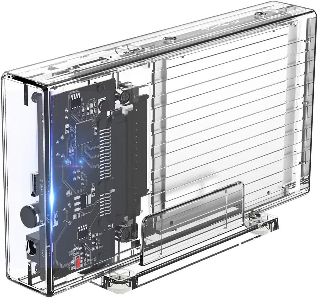 ORICO Carcasa USB 3.0 de 2 Bahías de Disco Duro 2,5 Pulgadas para ...