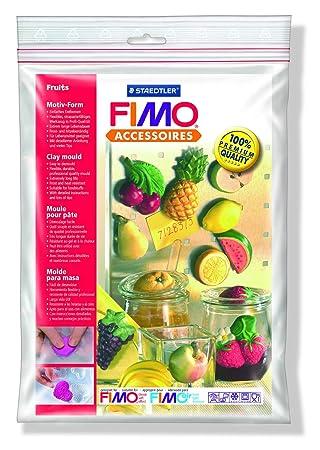 Staedtler 8742 42 Fimo - Moldes para masa motivo de frutas: Amazon.es: Juguetes y juegos