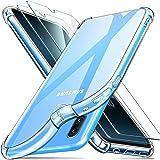 ivencase Samsung Galaxy A40 Funda+[2 Pack] Cristal Templado, Ultra Fina Silicona TransparenteTPU Carcasa Protector…