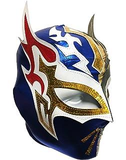 SIN CARA Lycra PRO Adult Lucha Libre Wrestling Mask (pro-LYCRA) GOLD/
