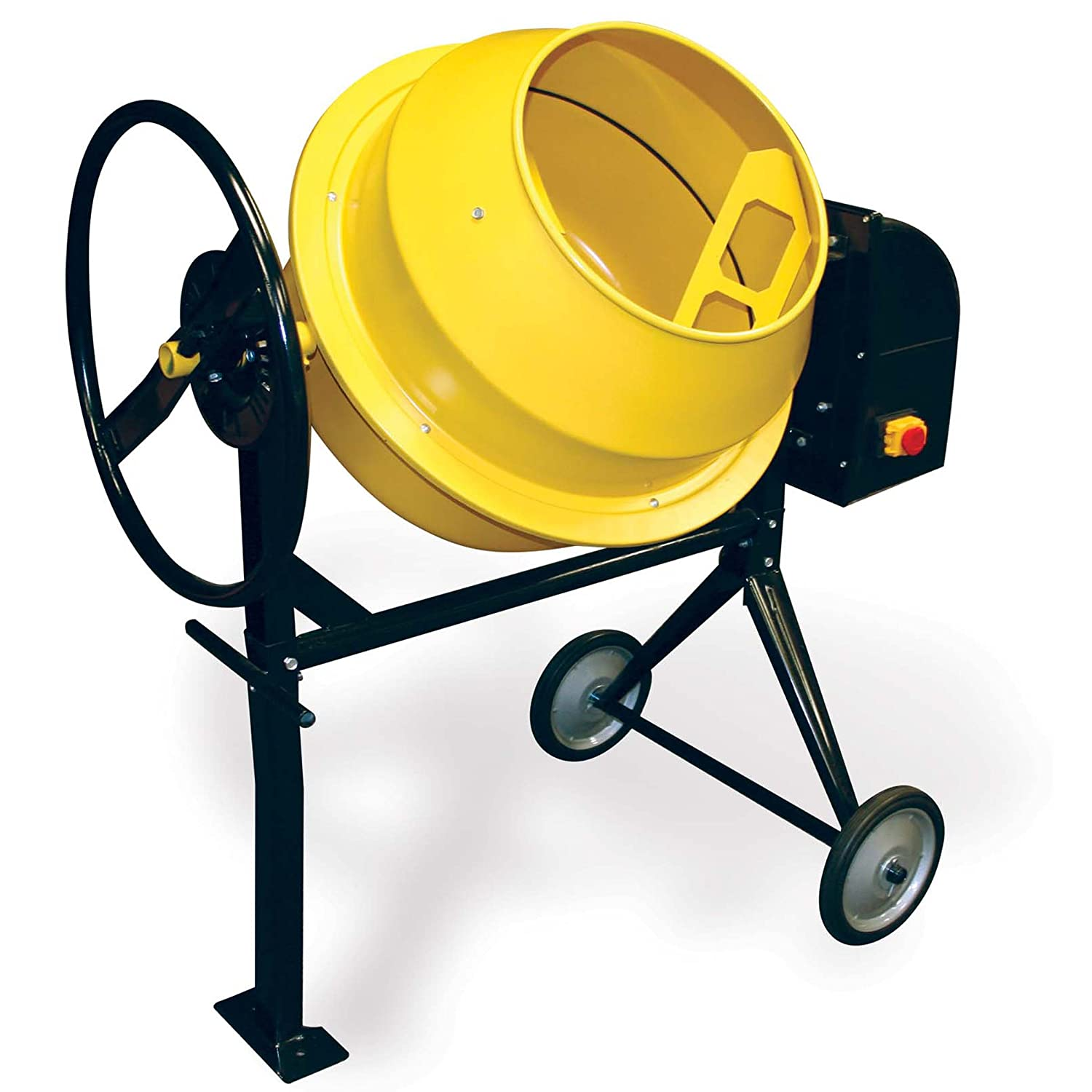 71zFI6fgndL._SL1500_ amazon com pro series cme35 electric cement mixer, 3 5 cubic feet Basic Electrical Wiring Diagrams at gsmportal.co