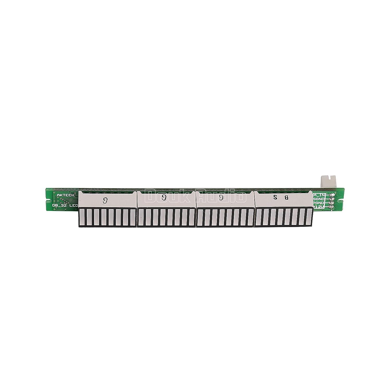 Nobsound Mono 32 Bit Level Indicator Panel Vu Meter Led Audio Circuit Kit Board Sound Display Analyzer For Amplifier Diy Assembled Home