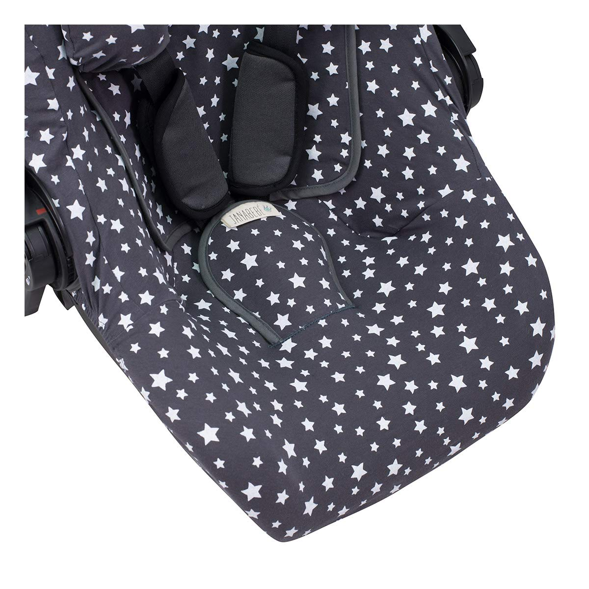 Concord Neo Air Safe and Romer Baby Safe Janabeb/é Cover Liner for Koos I-Size White Star