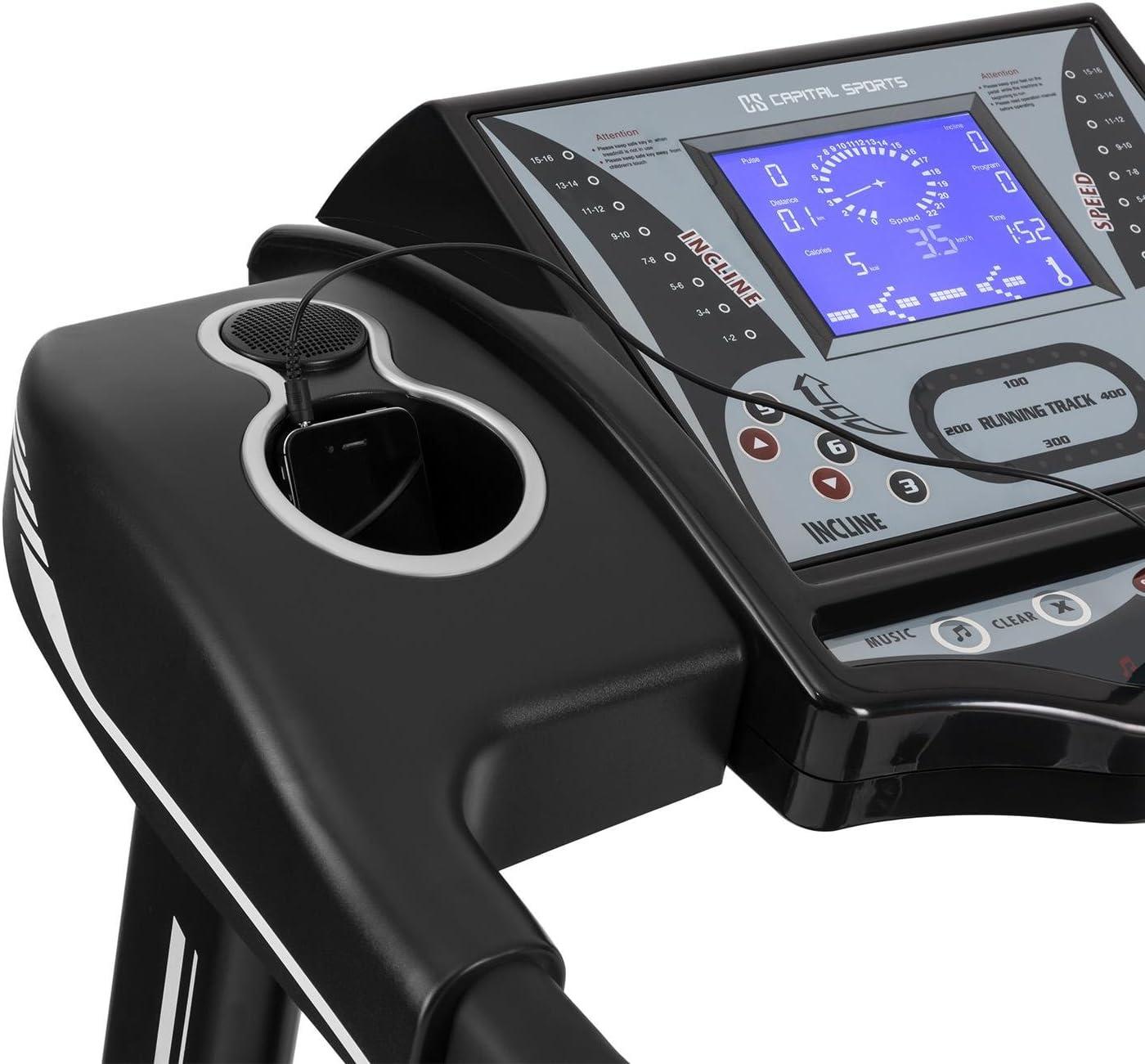 CAPITAL SPORTS Pacemaker X55 - caminadora , cinta de correr ...