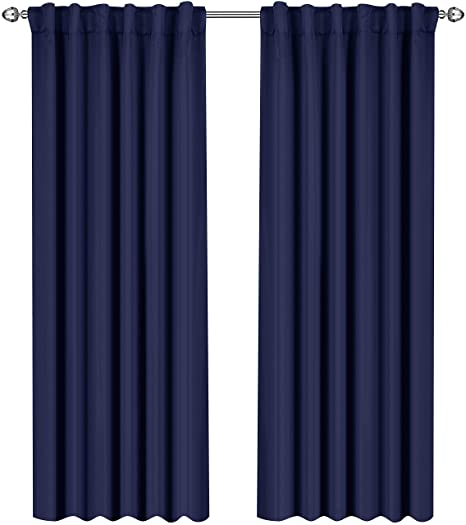 Utopia Bedding Blackout Room Darkening And Thermal Insulating Window Curtains Panels Drapes