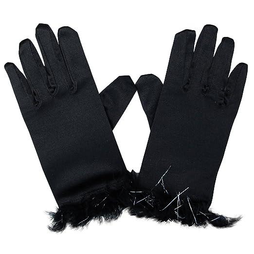 c5b14ece8a7c8 Amazon.com  So Sydney Kids Short Dress-Up Princess Costume Gloves ...