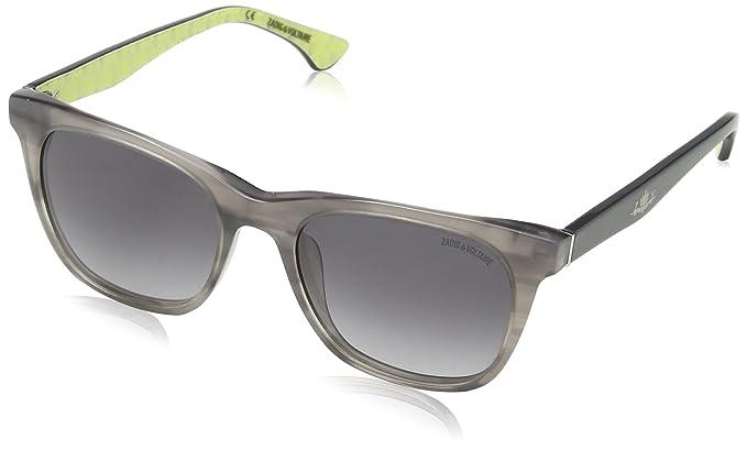 Zadig & Voltaire SZV004-gafas de sol Mujer Gris Gris (SHINY ...