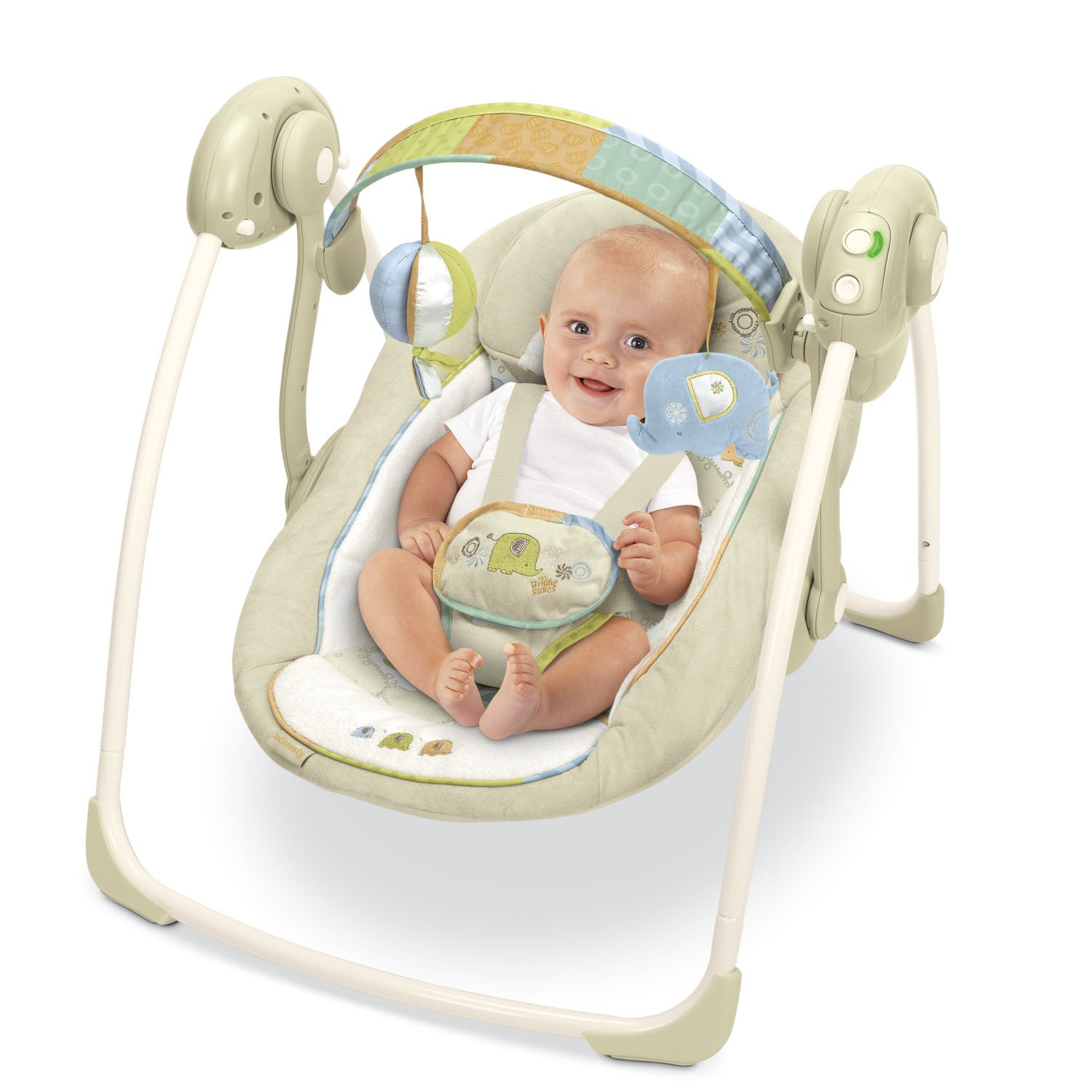 351bd11b0 KIDS II Bright Starts Kashmir Ingenuity Portable Swing: Amazon.ca: Baby