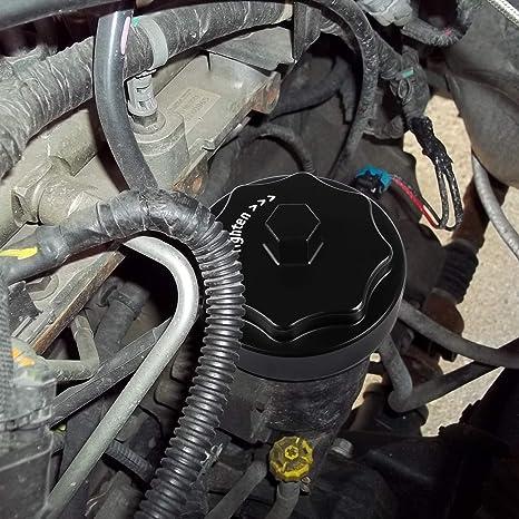 amazon com: fuel filter housing cap cover for dodge ram 2500 3500 4500 5500  6 7l cummins diesel engine 2010-2017 (black): automotive