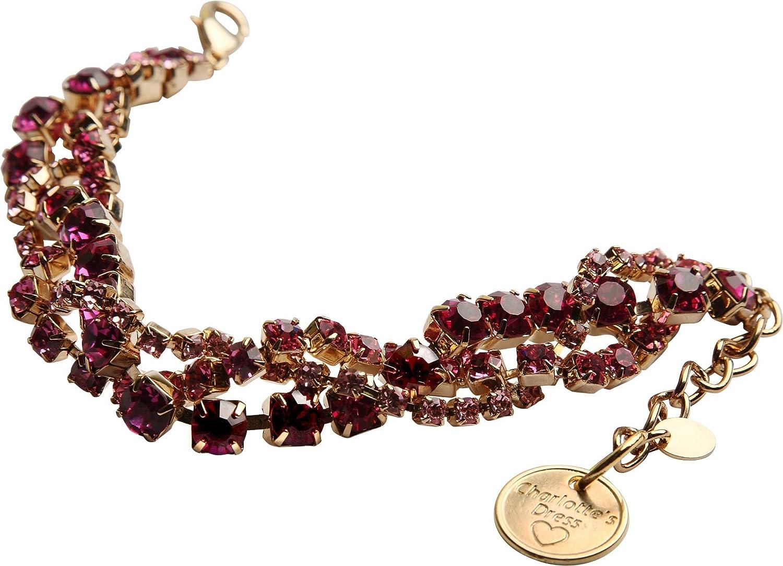 Charlotte 's Dress Halskette Armband, UNIC Größe, Rose