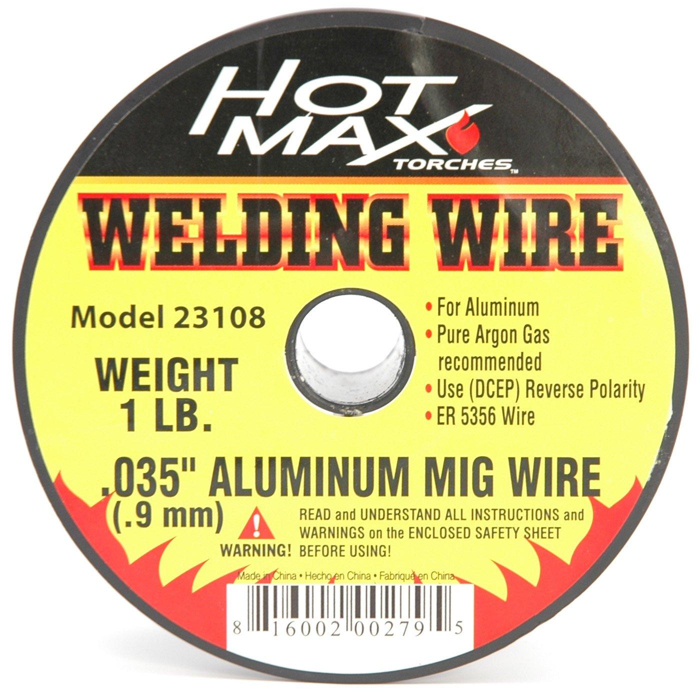 Hot Max 23108 .035-Inch Aluminum ER 5356 MIG Wire-1#