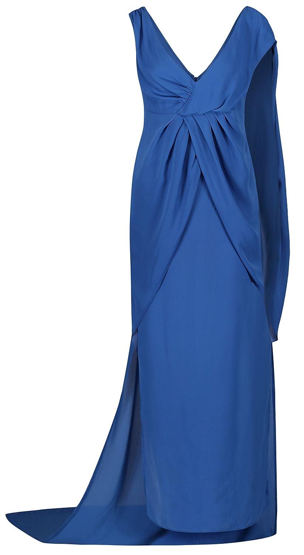 Wonder Blue Evening Ball Gown Dress