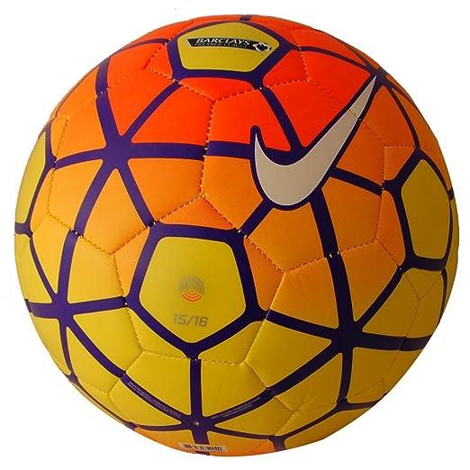 6 opinioni per Nike Pitch PL–Unisex Football, Amarillo / Naranja / Morado / Blanco (Vis), 4