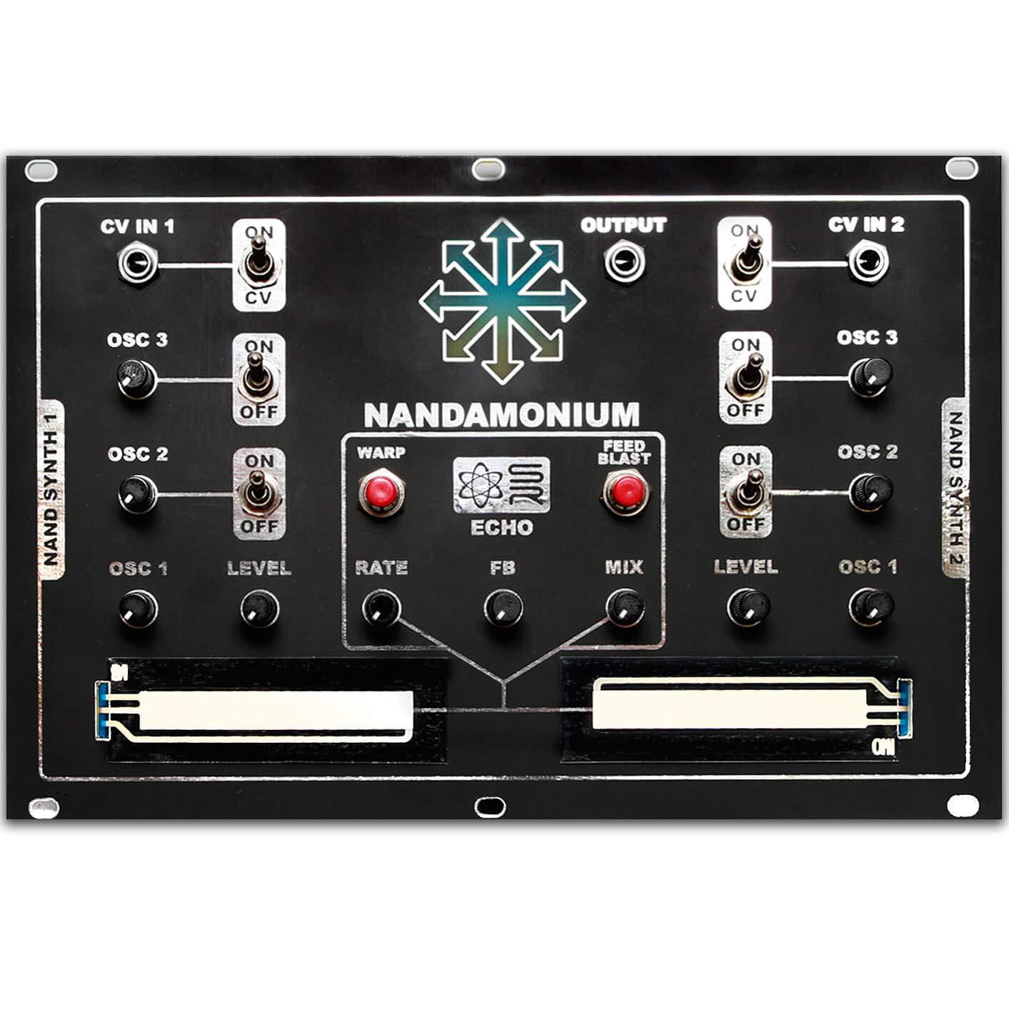 Nandamonium DIY Kit - Eurorack by Synthrotek (Image #2)