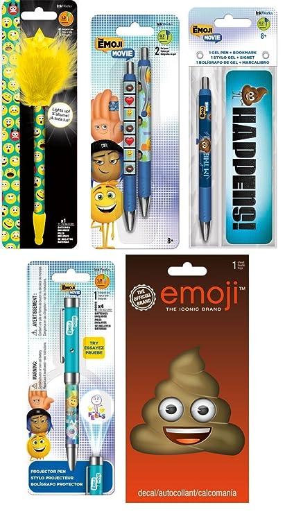 Set de regalo de escritura de la película Emoji con bonus poo ...