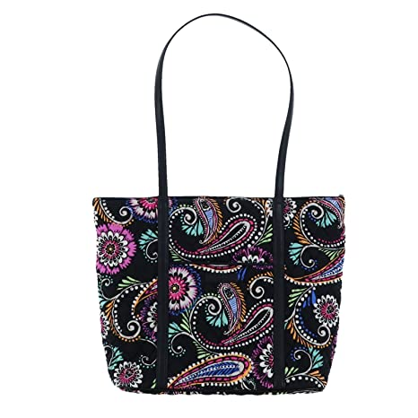 Image Unavailable. Image not available for. Color  Vera Bradley Small  Trimmed Vera Tote Bag (Bandana Swirl) 7eca7fb244