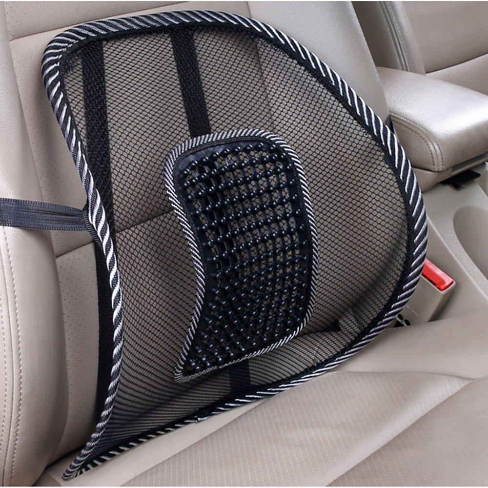 Brand New 2 x Lumbar Lower Back Support Mesh Cushion Highest Quality Pain Relief Posture Massage Car Seat The Best Kingdom