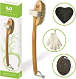 Premium Dry Brush for Cellulite & Lymphatic Massage to Get Glowing