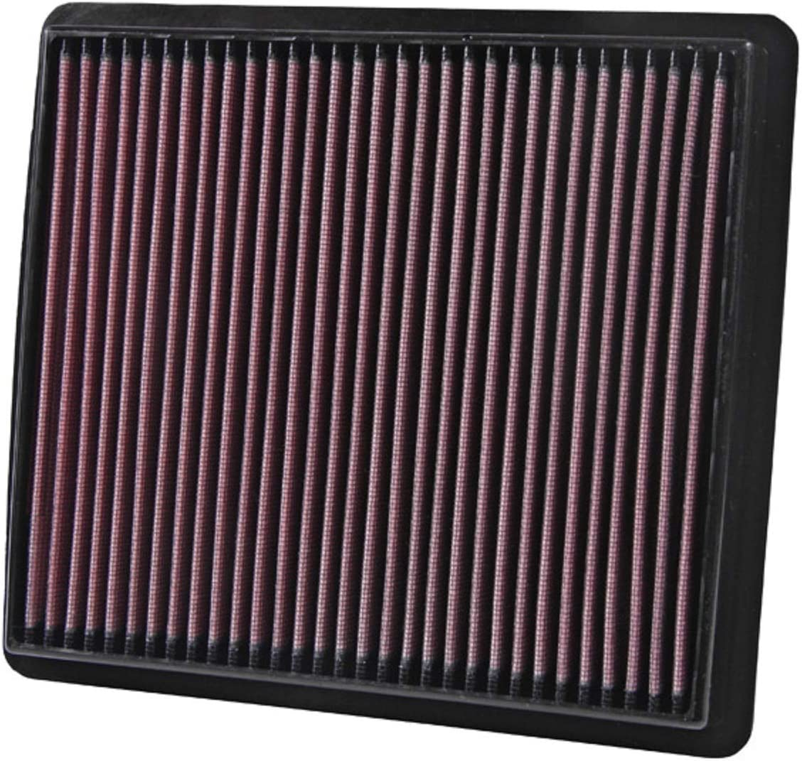 K&N Engine Air Filter: High Performance, Premium, Washable, Replacement Filter: 2008-2019 DODGE/FIAT (Journey, JCUV, Freemont) , 33-2423