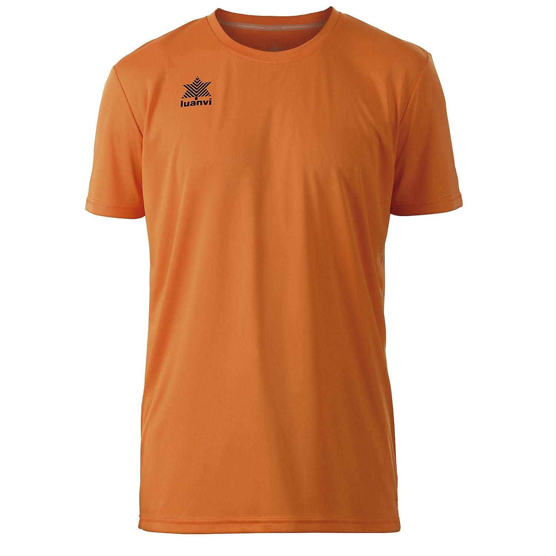 Luanvi Pol Herren-T-Shirt kurz/ärmelig L orange
