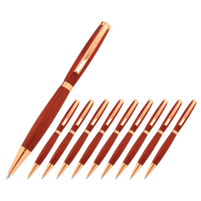 Legacy Woodturning, Slimline Pen Kit, Many Finishes, Multi-Packs The Instrument Store Slimline_Gun_Metal_10