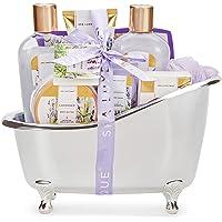 Set de Regalo para Mujer - Spa Luxetique Set de Spa para el Hogar a Lavanda, Regalos Originales para Mujer, Set de Baño…