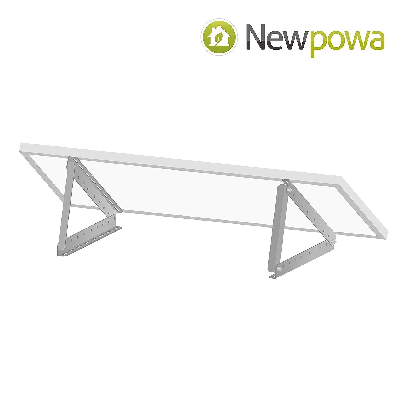 27inch Width Newpowa Adjustable Solar Panel tilt Mount Bracket kit