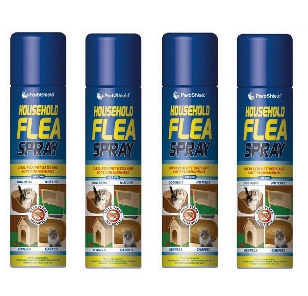 Aérosol anti-puce pour les animaux (chien, chat), 4pk 200ml pour la protection des maisons 151