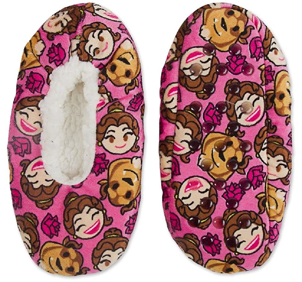 Beauty and The Beast Emoji Silky Suede Babba Slippers S//M