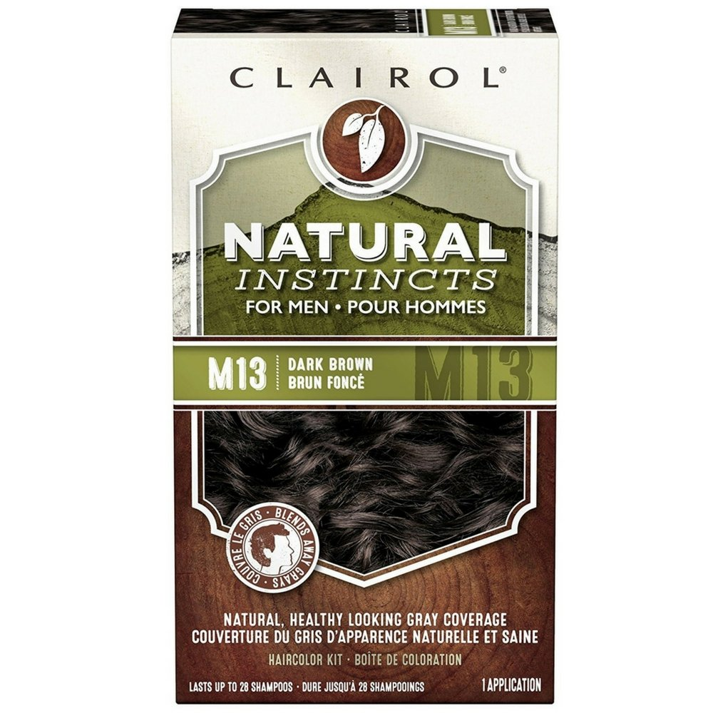 Natural Instincts For Men Haircolor M13 Dark Brown 1 Each (Pack of 10) by Clairol