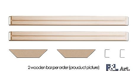 Amazon.com: DIY Wood Stretcher Bars Wall Art Canvas Frames Stretcher ...
