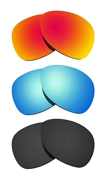 0c8ce18a3c7 Littlebird4 3 Pairs 1.5mm Polarized Replacement Lenses for Oakley Crosshair  Sunglasses - Multiple Options (