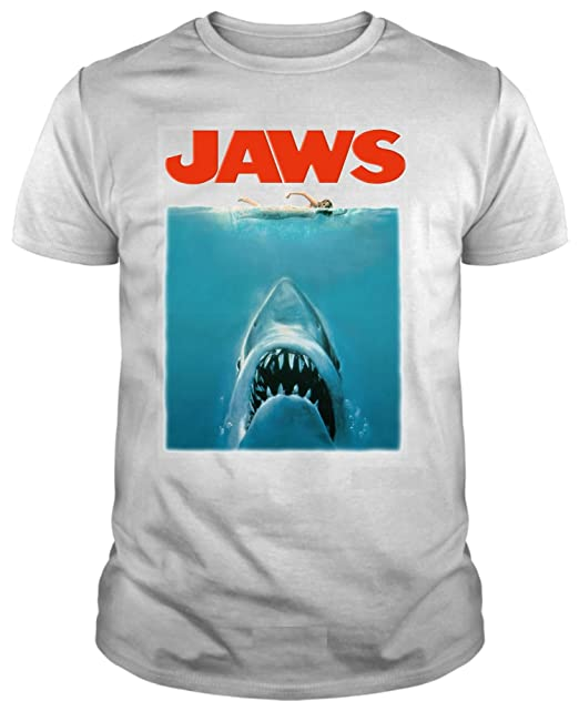 Jaws Movie Poster, Camiseta para Hombre