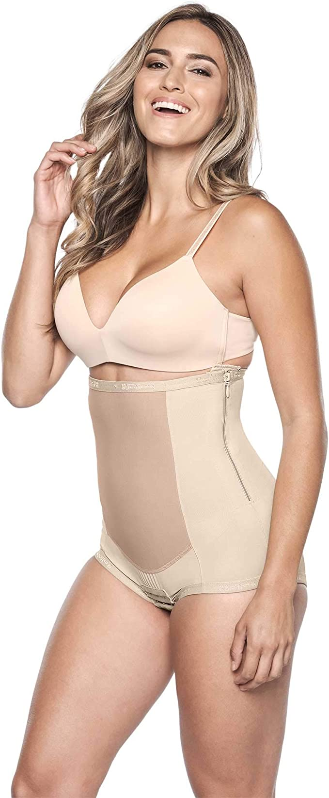 Women/'s Panty Girdle with Hook and Eye Closure by Susa 5202 White