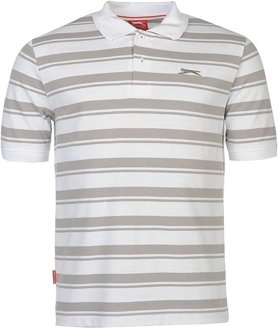 Slazenger Hombre Pique Yd Polo Camisa Camiseta Casual Ropa Vestir ...