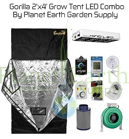 Gorilla Grow Tent (2u0027 x 4u0027) LED Combo Package #1  sc 1 st  Amazon.com & Amazon.com : Gorilla Grow Tent (2u0027 x 4u0027) LED Combo Package #1 ...