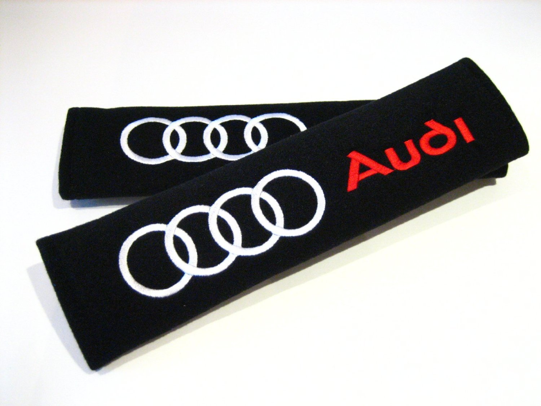 Coussinets style racing pour ceinture de s/écurit/é A3/A4/A5/A6/TT RS Quattro Q3/Q5/Q7/avant Turbo Allroad E-tron A8/RS4/R8/RS6/RS8/A1/Q2.