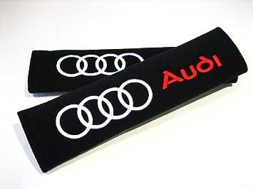 Audi Accessories, almohadillas para cinturón de seguridad Racing Style, de Seat. Para Audi A3, A4, A5, ...
