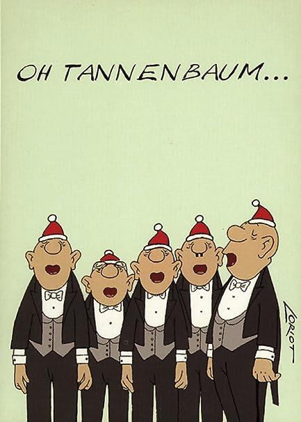 Loriot Weihnachten.Postkarten Weihnachten A6 0621 Oh Tannenbaum Von