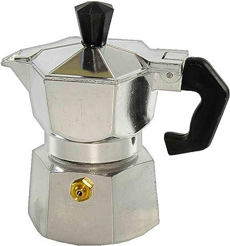 Cafetera cubanyta aluminio 1/2 taza: Amazon.es: Hogar