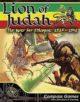 CPS: León de Judá, la Guerra para Etiopía 1935-1941, Juego de Mesa: Amazon.es: Juguetes y juegos