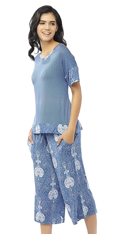 9faffefb8678 Summer Pajamas for Women - Stylish Print Ladies Pajama Set ...