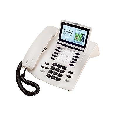 AGFEO ST 45 Blanco - Teléfono (1000 entradas, Blanco)