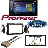 Amazon Com 2004 2016 Ford F250 350 450 550 Bluetooth Dvd Car Stereo