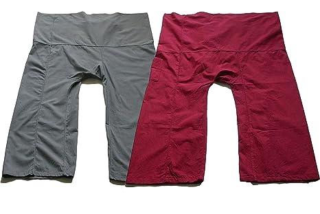 Amazon.com : Cute Yoga Pants Thai Fisherman Trousers ...