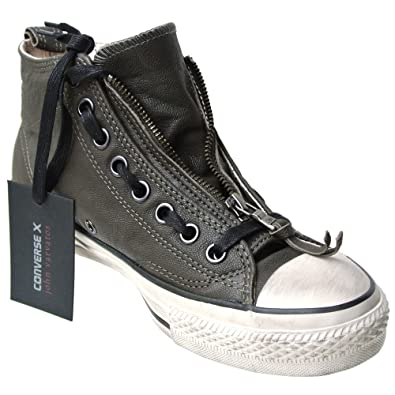 CONVERSE ALL STAR CHUCKS SCHUHE EU 41 5 UK 8 LEDER WEIss